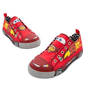 Slip-On Lightning McQueen Sneakers for Boys