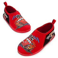 Lightning McQueen Swim Shoes for Boys
