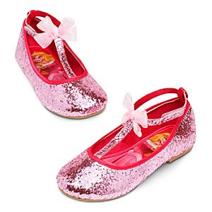Aurora Flat Shoes for Girls - Sleeping Beauty
