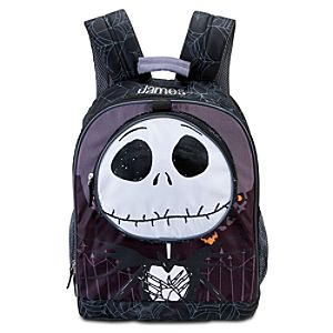 Personalized Jack Skellington Backpack