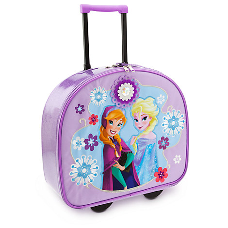 Anna and Elsa Rolling Luggage - Frozen | Luggage | Disney Store