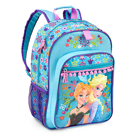 Anna and Elsa Backpack for Girls - Personalizable