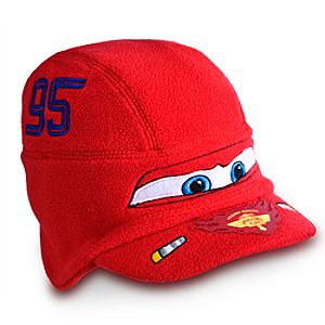 Lightning McQueen Hat for Boys