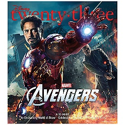 D23 Summer 2012 Magazine - Iron Man - Membership Exclusive Cover