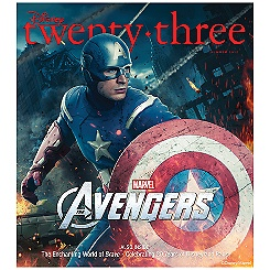 D23 Summer 2012 Magazine - Captain America - Membership Exclusive Cover