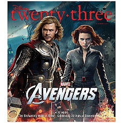 D23 Summer 2012 Magazine - Thor - Membership Exclusive Cover