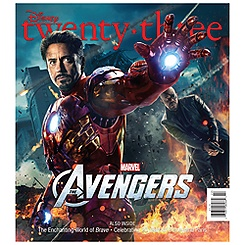 D23 Summer 2012 Magazine - Iron Man Cover