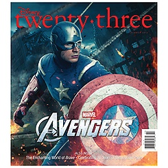D23 Summer 2012 Magazine - Captain America Cover