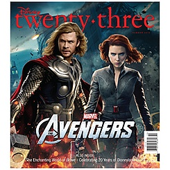 D23 Disney twenty-three Summer 2012 Magazine - Thor Cover