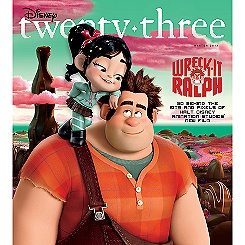 D23 Disney twenty-three Magazine Winter 2012 Issue - Membership Exclusive Cover