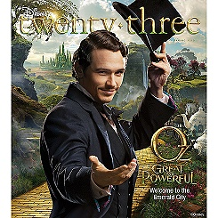 D23 Disney twenty-three Spring 2013 Magazine -- Membership Exclusive Cover