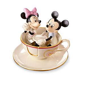 Mickeys Tea Cup Twirl Figurine by Lenox