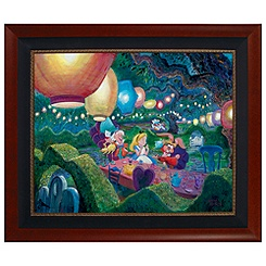 Mad Hatter Tea Party Limited-Edition Giclée