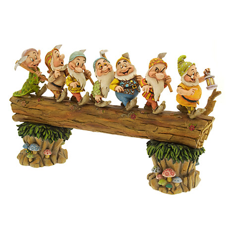 ''Homeward Bound'' Seven Dwarfs Figurine by Jim Shore