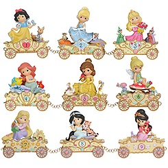 Precious Moments Disney Princess Train Collection