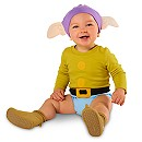 Dopey Bodysuit Costume Collection for Baby