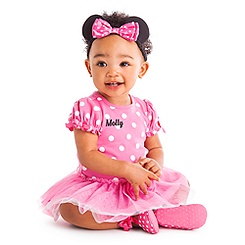Minnie Mouse Pink Bodysuit Costume Collection for Baby