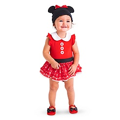 Minnie Mouse Red Bodysuit Costume Collection for Baby