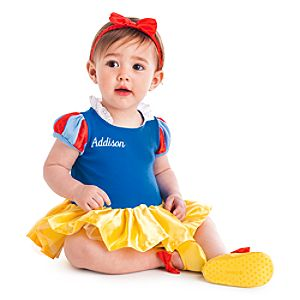 Snow White Bodysuit Costume Collection for Baby
