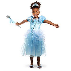Cinderella Light Up Costume Collection for Kids