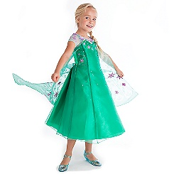 Elsa Frozen Fever Costume Collection for Kids