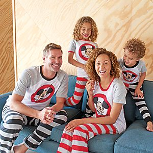 Mickey Mouse Club Family Sleepwear Collection