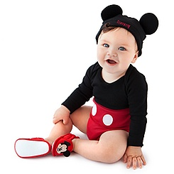 Mickey Mouse Disney Cuddly Bodysuit Collection