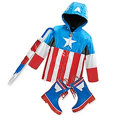 Captain America Rain Collection for Kids