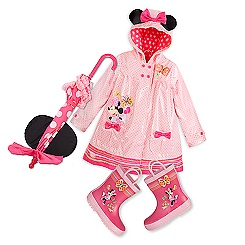 Minnie Mouse Clubhouse Rain Collection for Kids