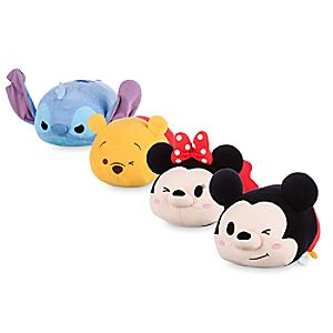 Mickey and Friends Large ''Tsum Tsum'' Plush Collection