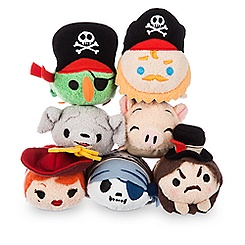 Pirates of the Caribbean Mini ''Tsum Tsum'' Plush Collection