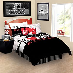 Iconic Mickey Mouse Bedding Collection