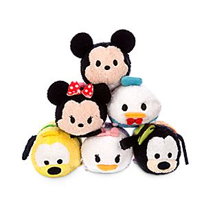 Mickey and Friends ''Tsum Tsum'' Mini Plush Collection