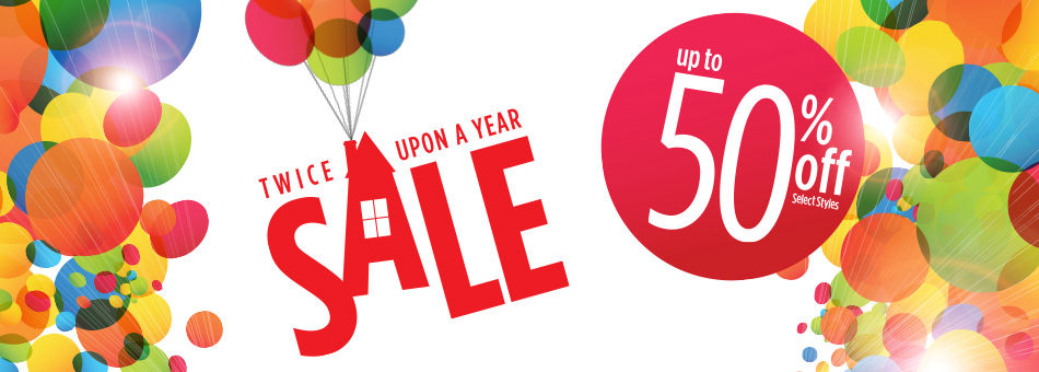 Twice Upon a Year Sale - Up to 50% Off - Select Styles