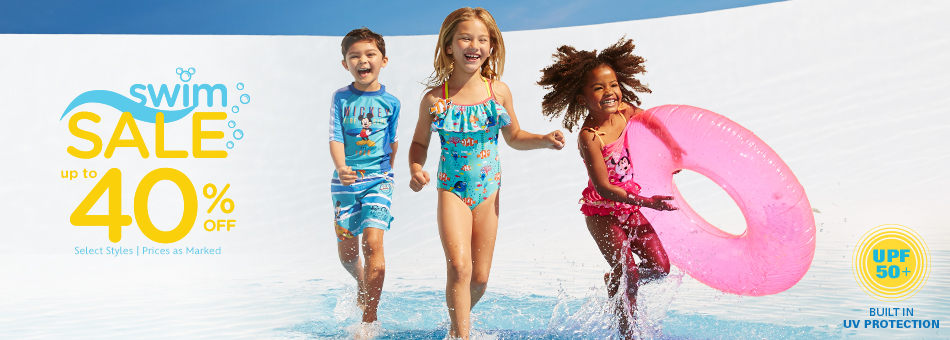 Swim Sale - Up to 40% Off - Select Styles - Prices as Marked