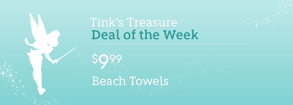 Tink's Treasure: Deal of the Week - $9.99 Beach Towels