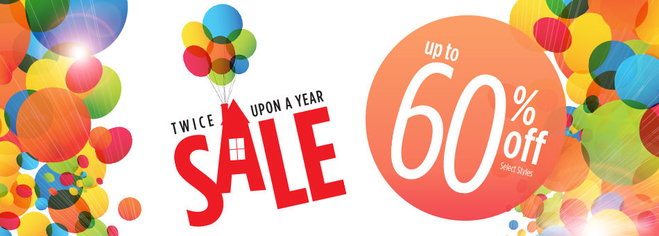 Twice Upon a Year Sale - Up to 60% Off - Select Styles